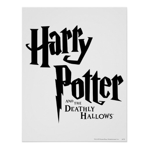 Harry Potter och det Deathly Hallows logotyp 2 Affisch