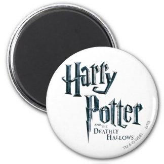 Harry Potter och det Deathly Hallows logotyp 3 Magnet Rund 5.7 Cm