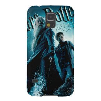 Harry Potter och Dumbledore på stenar 1 Galaxy S5 Fodral