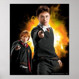 Harry Potter och Ron Weasely Affisch