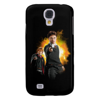 Harry Potter och Ron Weasely Galaxy S4 Fodral