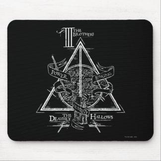 Harry Potter pass DEATHLY | HALLOWS grafiskt Musmatta