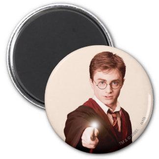 Harry Potter pekar trollspöet Magnet Rund 5.7 Cm