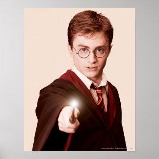 Harry Potter pekar trollspöet Poster