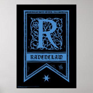 Harry Potter | Ravenclaw Monogrambaner Poster
