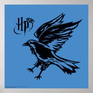 Harry Potter | Ravenclaw örnsymbol Poster
