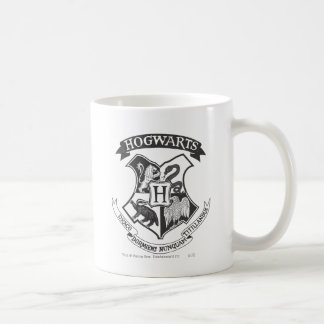 Harry Potter | Retro Hogwarts vapensköld Kaffemugg