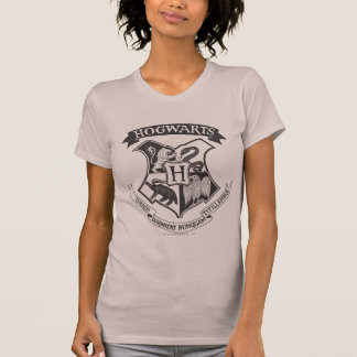 Harry Potter | Retro Hogwarts vapensköld T-shirt