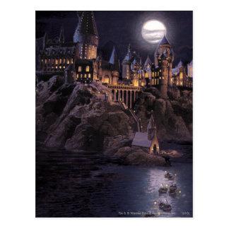 Harry Potter slott | underbar sjö till Hogwarts Vykort