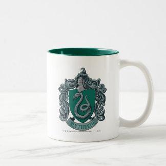 Harry Potter | Slytherin vapensköldgrönt Två-Tonad Mugg