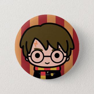 Harry Potter tecknade figurerkonst Standard Knapp Rund 5.7 Cm