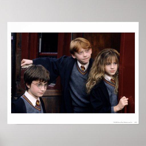 Harry, Ron och Hermione Posters