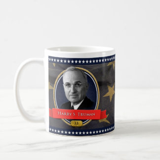 Harry S. Truman historisk mugg