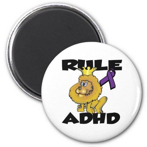 Härska ADHD Kylskåpsnagnet