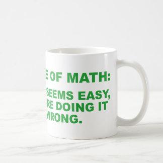 Härska av Math Kaffemugg