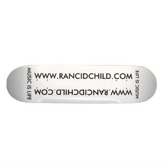 Härsken barnSkateboard Mini Skateboard Bräda 18,5 Cm