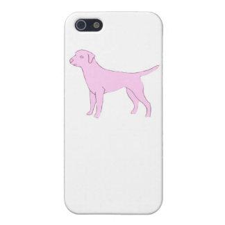 Hårt fodral för rosa iphone för Labrador Retriever iPhone 5 Cover