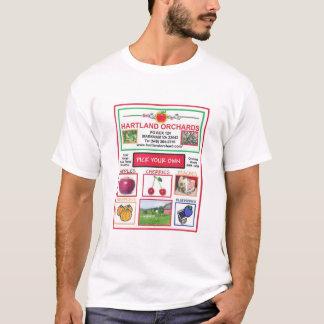 Hartland fruktträdgårdar t-shirts