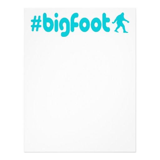 Hashtag Bigfoot Brevhuvud