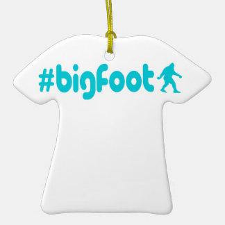Hashtag Bigfoot Jul Dekorationer