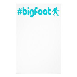 Hashtag Bigfoot Anpassningsbara Brevpapper