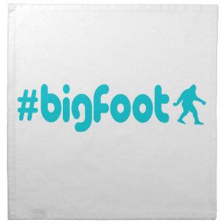 Hashtag Bigfoot Servett