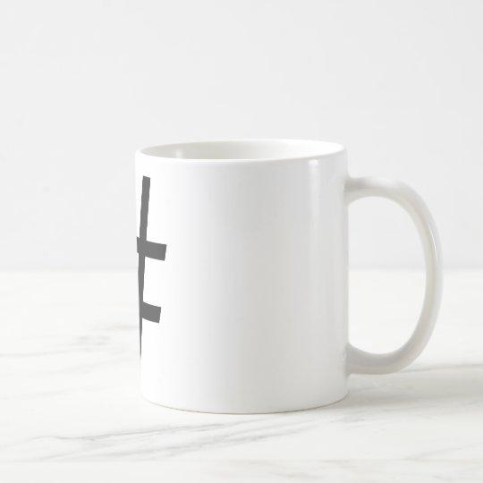 Hashtag Coffee Cup Kaffemugg