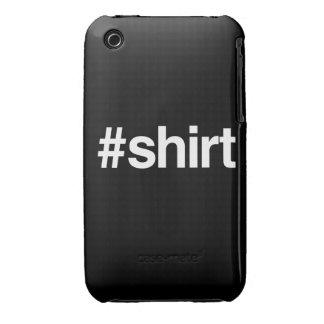 HASHTAG-SKJORTA iPhone 3 CASES