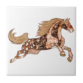 Häst 3 liten kakelplatta