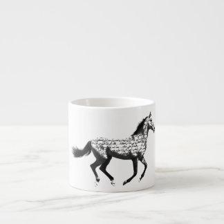 Häst Espressomugg