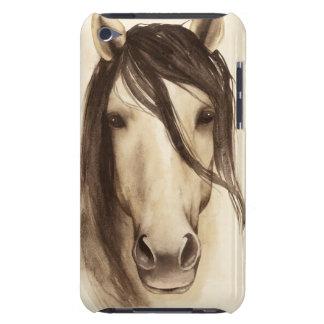 Häst för vattenfärgladugårddjur | barely there iPod fodral