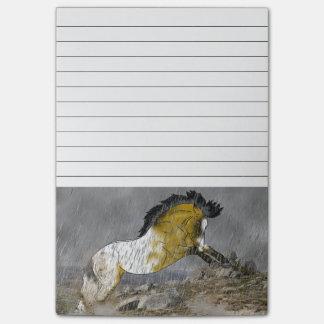 Häst för vildhjortläderAppaloosa Post-it Block