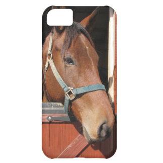 Häst i ladugård iPhone 5C mobil fodral