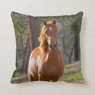 Häst i skogen kudde