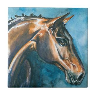 Häst Liten Kakelplatta