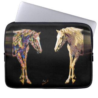Häst- och Digital konst Laptop Sleeve