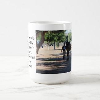 häst och ryttare kaffemugg