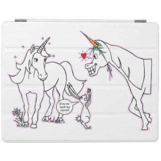 Häst som är förälskad med unicorn iPad skydd