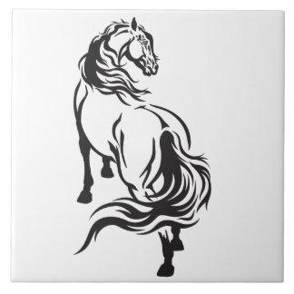 häst stor kakelplatta