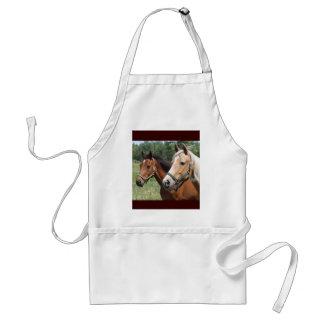 Hästar Förkläde