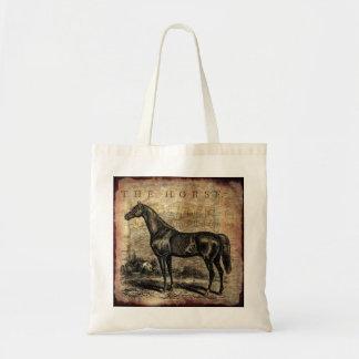 Hästar för för vintagehästThoroughbred och arab Tygkasse