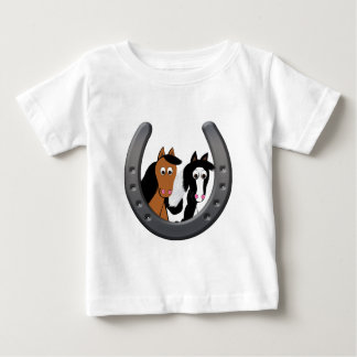 hästar i hästsko t-shirts