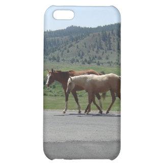 Hästar iPhone 5C Mobil Skydd