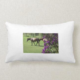 hästar dekorativ kudde