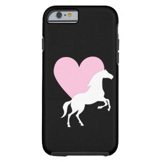 Hästar och kärlek tough iPhone 6 fodral