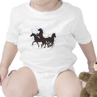 Hästar Sparkdräkt