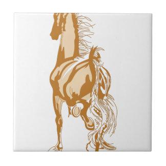 Hästbaksida Kakelplatta
