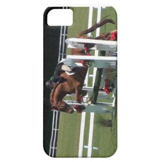 hästbanhoppning, derby häst iPhone 5 Case-Mate skydd