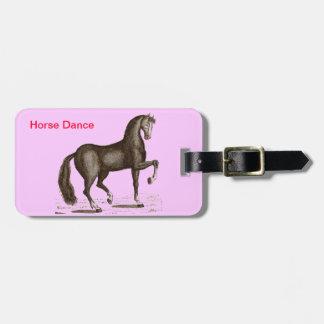 Hästdans - DANSHÄST Reselappar För Väskor