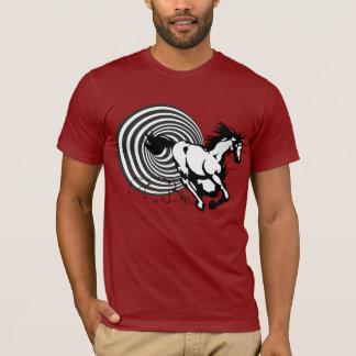 Hästen från Another dimensionerar Tee Shirts